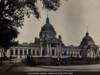1913 után, Külső Andrássy út (Kós Károly sétány), Széchenyi fürdő,  14. kerület