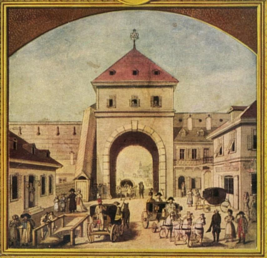 1790, Agria Gasse (Egri utca), (Kossuth Lajos utca), a Hatvani kapu, 5. kerület