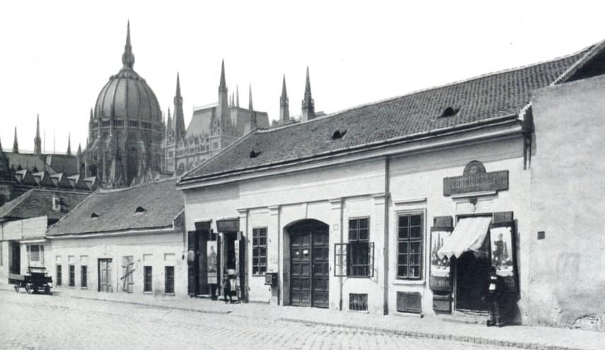 1890- es évek vége táján, Géza (Garibaldi) utca, 4. (1950-től 5. kerület