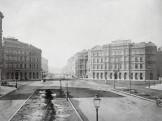 1875 táján, (1883-tól Sugár) Andrássy út, 6. kerület