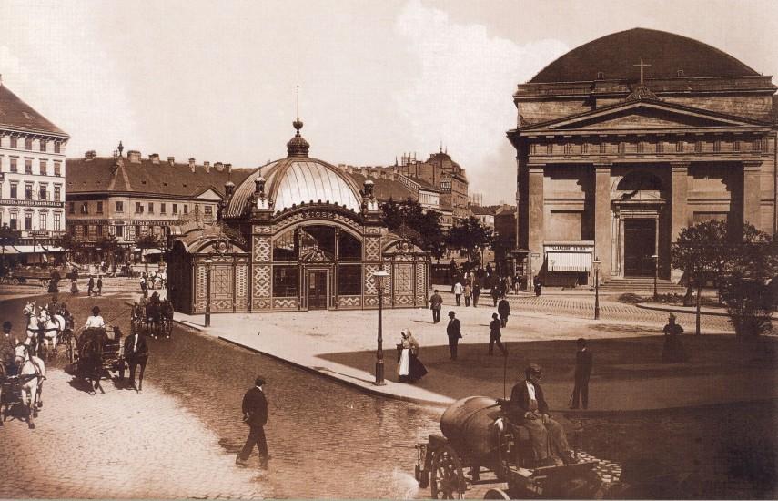 1896 táján, Deák Ferenc tér, 4. (1950-től 5.) kerület