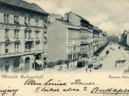 1899, Ferencz (Ferenc) körút, 9. kerület