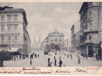 1900 táján, Baross utca, 8. kerület