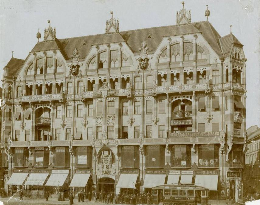 1900, Kerepesi (Rákóczi) út, 7. kerület