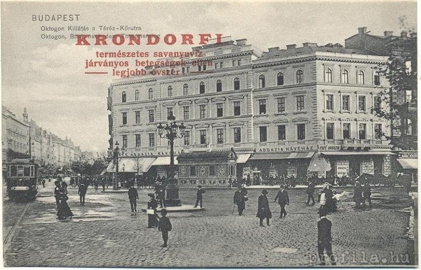 1905, Nyolcszög tér (Oktogon), 6. kerület