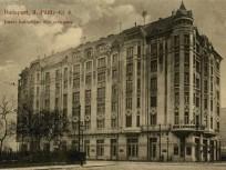 1913 táján, Pálffy (Bem József) tér, a Budai Katholikus Kör székháza