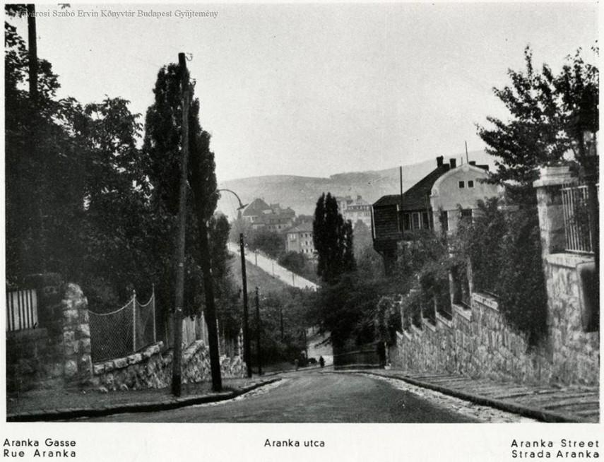1930-as évek, Aranka utca, 2. kerület