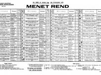 1939, BSZKRT (Beszkárt) menetrend