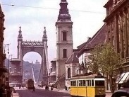 1942, Eskü (Szabad sajtó) út és a régi Erzsébet híd, 4. (1950-től) 5. kerület