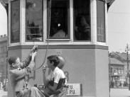 1950-es évek, Baross rér, 46-os villamos,, 8. kerület