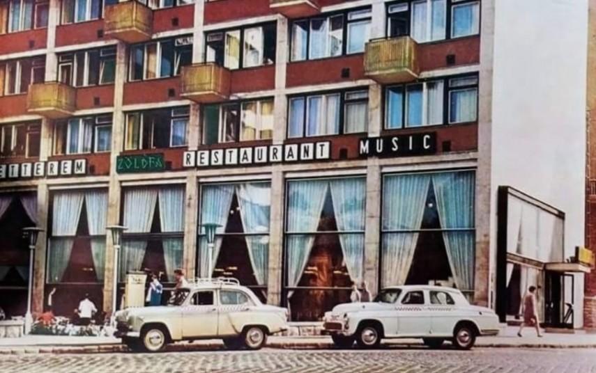 1960-as évek, Krisztina tér, 1. kerület