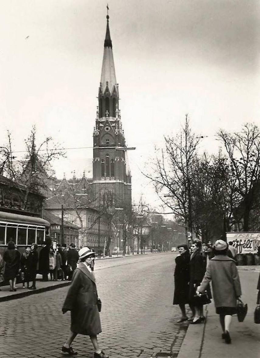 1960 táján, Thököly út, 14. kerület