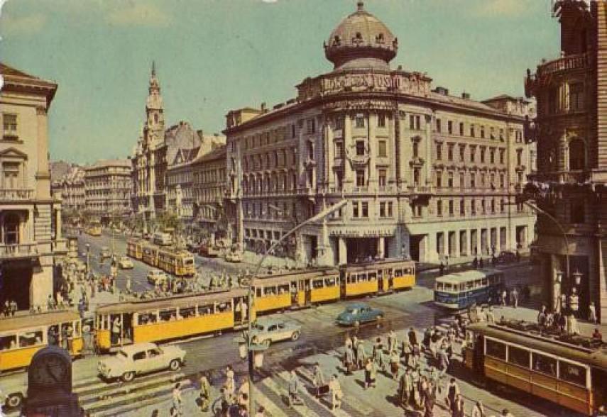 1963, Blaha Lujza tér, 8. és 7. kerület