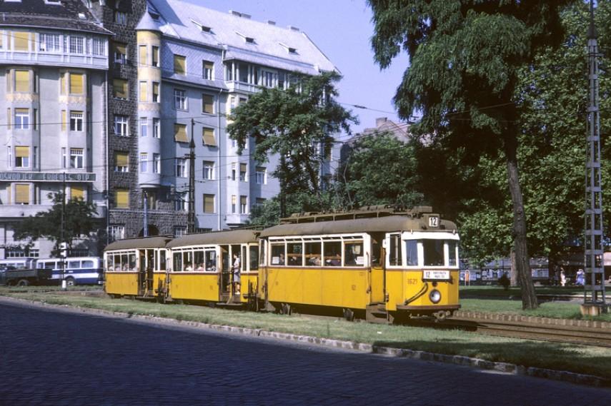 1967, Lehel utca, szemben a Csanády utca, 13. kerület
