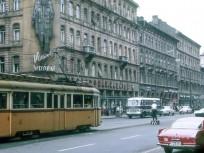 1968, Rákóczi út a Berzsenyi Dániel utcánál, 8. kerület