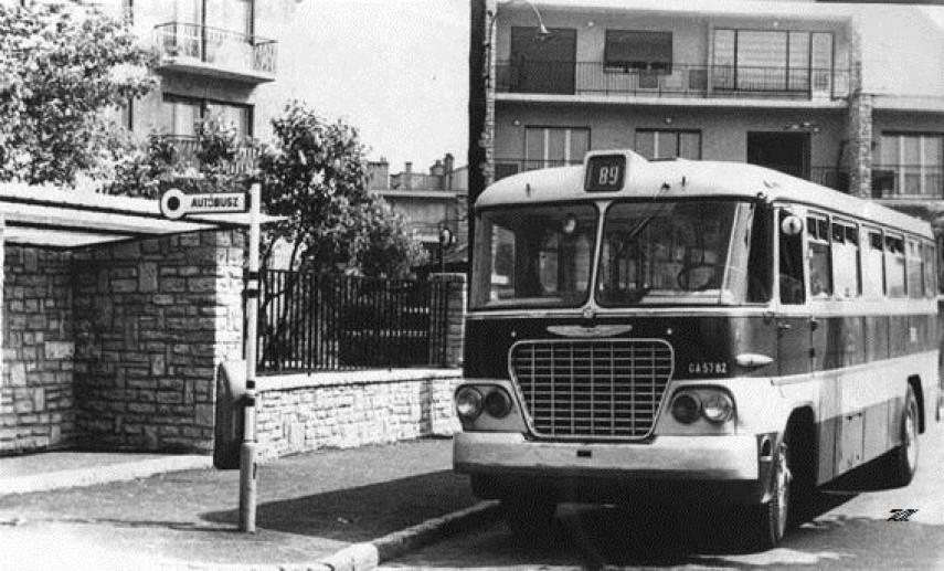 1960-as-70-es évek, Naphegy tér, 1. kerület