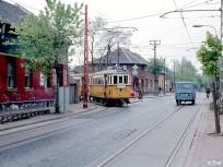 1980 táján, Nagy Sándor (Nagysándor József) utca az Ady Endre utcánál, 20. kerület