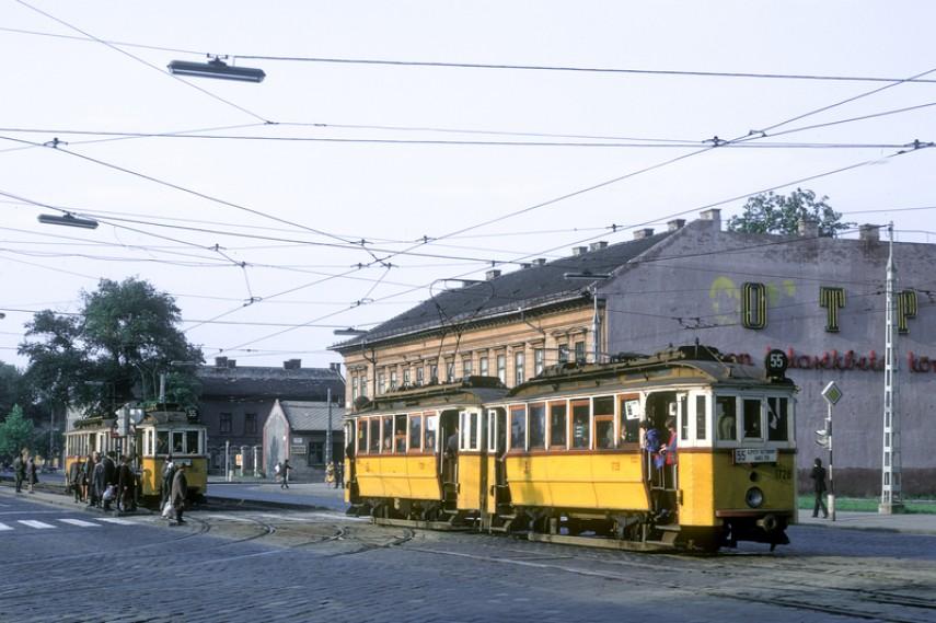 1972, Váci út a Dráva utcánál, 13. kerület