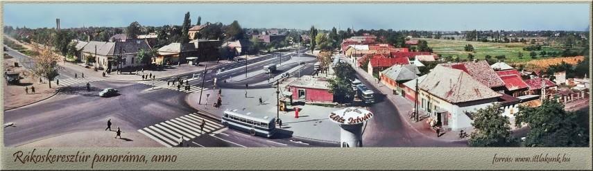 1960-as évek Ferihegyi út a Pesti útnál, 17. kerület