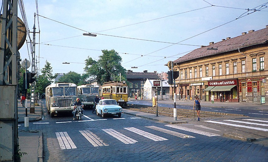1970-es évek, Váci út, 13. kerület