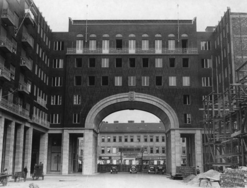 1930-as évek vége, Madách Imre tér, 7. kerület