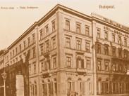 1900 táján, Deák Ferencz (Deák Ferenc) utca, 4.(1950-től 5.) kerület