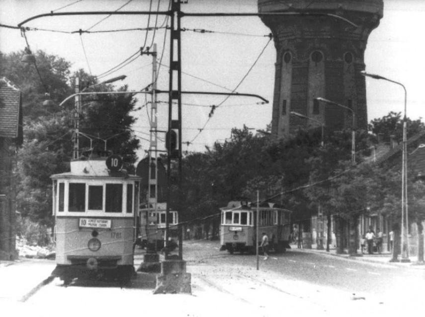 1970-es évek eleje, Árpád út, 4. kerület