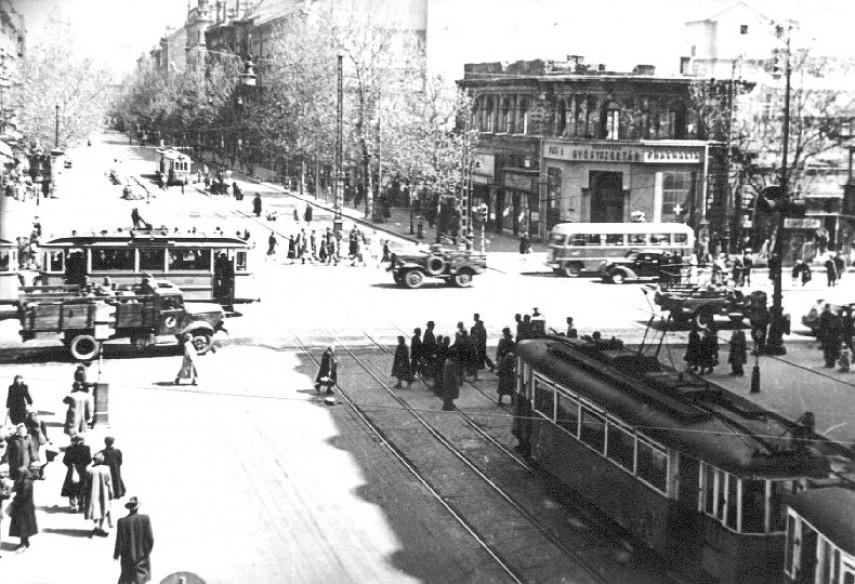 1948-1956, Rákóczi út, 8. és 5. kerület