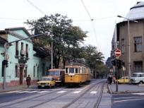 1980-as évek Ságvári Endre (Bácska) utca Hubay Jenő tér felől, 15. kerület