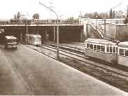 1970-es évek, Béke utca, a Béke utcai közúti aluljáró, 13. kerület
