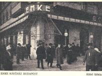 1885-1930, Rákóczi út a Nagykörútnál, az EMKE kávéház, 7. kerület