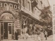 1913, József körút, a Bodó kávéház, 8. kerület