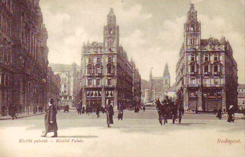 1905, Apponyi tér (Ferenciek tere), 4. (1950-től 5.) kerület