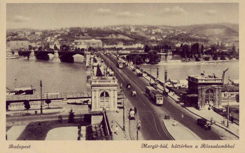 1930-as évek,  Margit híd, 13. kerület