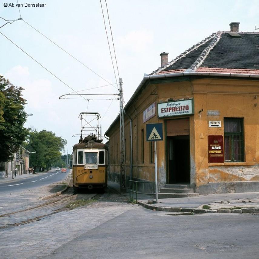 1980 évek eleje, Nagytétényi út, 22. kerület