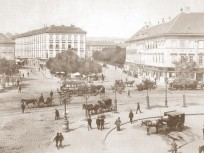 1890 táján, Deák Ferenc tér, 4., (1950-től) 5. kerület