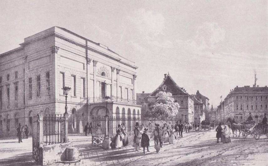 1830-as évek, Kerepesi (Rákóczi) út, 8. kerület