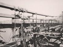 1902, a régi Erzsébet híd építése, 1. kerület