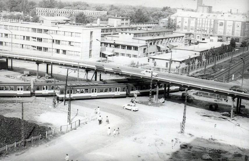 1972-1977, Óbuda, Szentendrei út és a Bogdáni út kereszteződése, 3. kerület