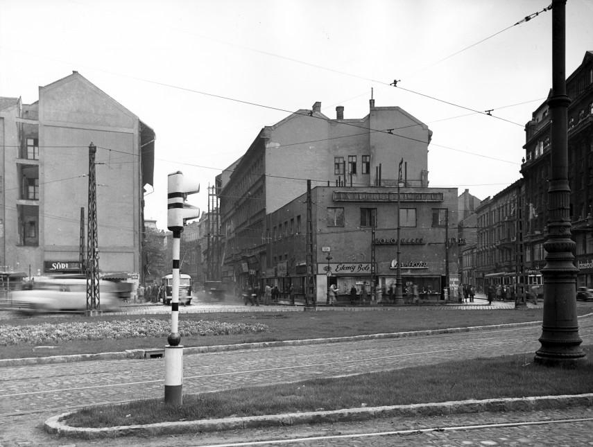 1957, Calvin (Kálvin) tér, 8. és 9. kerület