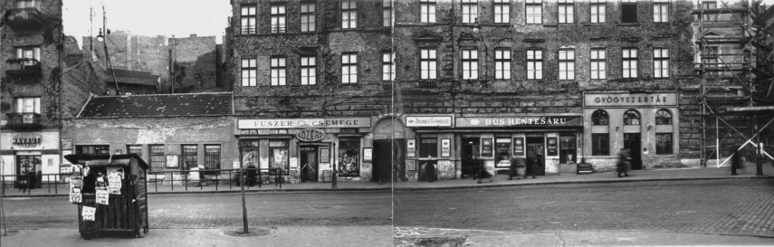 1957, Széna tér az Ostrom és a Hattyú utca között, 1. kerület