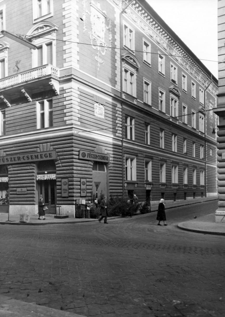1961, Frankel Leó út a Bodrog utcánál