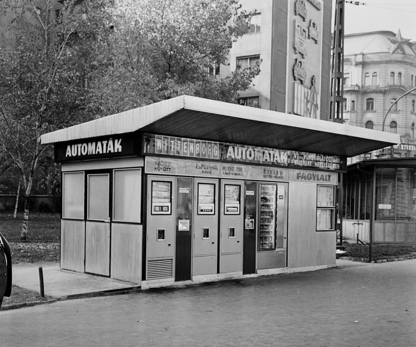 1970, Marx (Nyugati) tér, 6. kerület