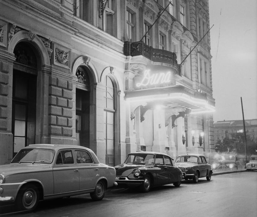1960 táján, Apáczai Csere János utca, 5. kerület