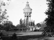 1940, Margitsziget, a Víztorony, 13. kerület, Budapest