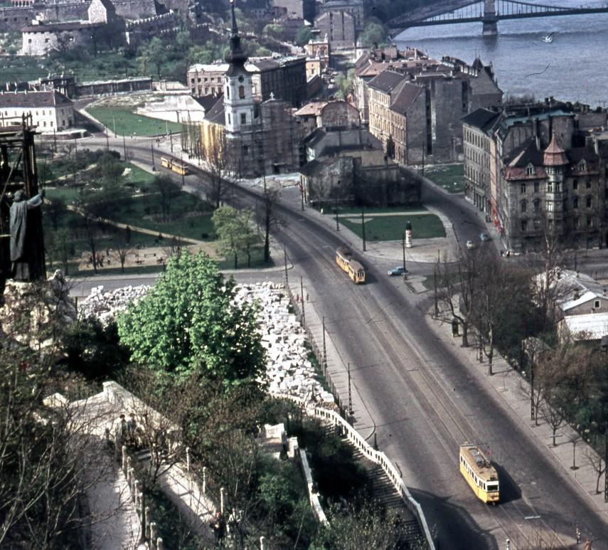 1960, Döbrentei tér, 1. kerület