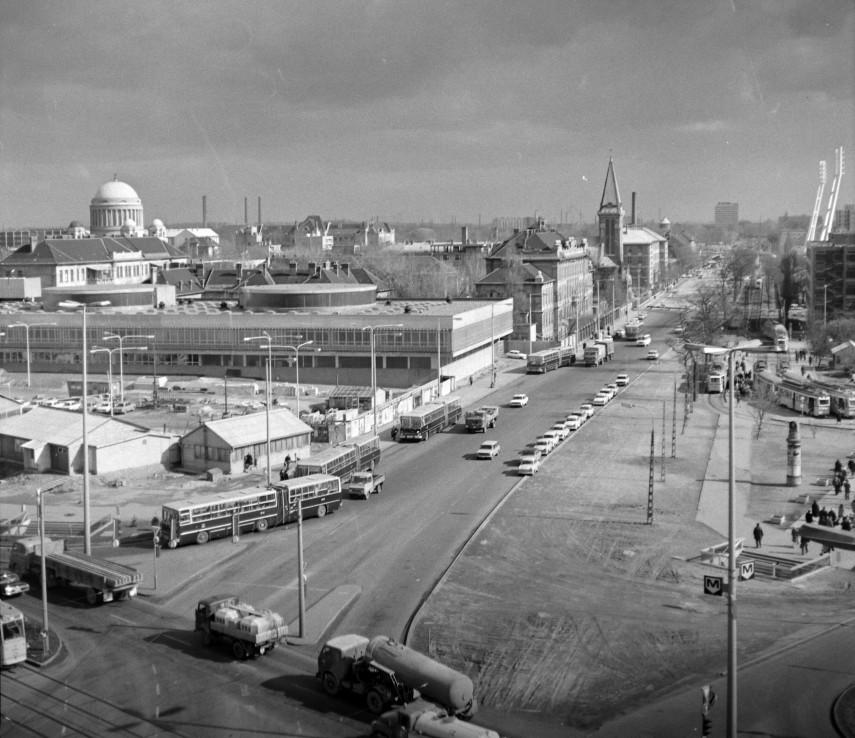 1977, Nagyvárad tér, 8.és 9. kerület kerület