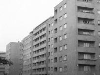 1960, Fivér utca a Fiastyúk utca felől az Övezet utca felé nézve