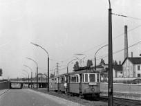 1959, a Béke utcai közúti aluljáró a Gyöngyösi utcától nézve, 13. kerület