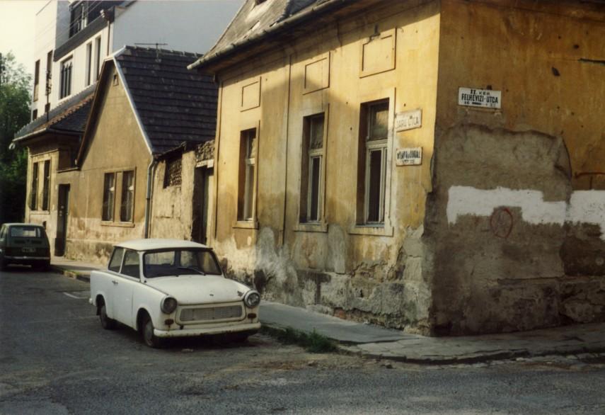 1988, Daru utca a Felhévízi utcánál, 2. kerület
